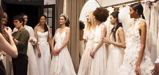 tendência para vestido de noiva 2020